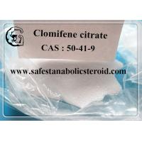 Buy cheap Legal Oral Steroids Hormone Clomifene Citrate Clomid Powder CAS 50-41-9 assay 99% from wholesalers