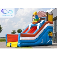 Buy cheap 6.5m Beach Water Jumping 4 In 1 Inflatable Water Slides from wholesalers