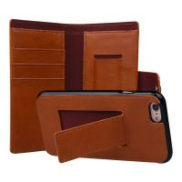 Buy cheap 2 In 1 Detachable Magnetic Folio Flip Cell Phone Protector Cases with Card Slot Stand from wholesalers