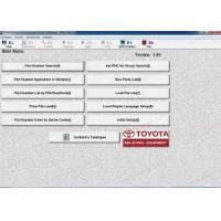 Buy cheap Toyota Industrial v1.84 electronic parts catalog for forklift trucks product