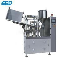 Buy cheap Semi Automatic Packing Machine 220V / 50Hz Plastic Filling And Sealing Machine from wholesalers