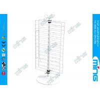 Buy cheap Double Sides Metal Retail Wire Display Stands , Counter Rotating Display Fixture from wholesalers