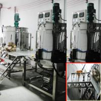 Buy cheap Cuatom 2000L Shampoo Mixer Machine With Group Stainlesss Steel Blending Tanks from wholesalers
