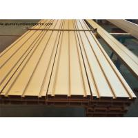 Buy cheap Elegant Ti Gold Aluminium Door Profiles / Heavy Sliding Door Outer Frame Extrusions from wholesalers