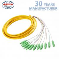 Buy cheap MPO Fiber Optic Patch Cord 12 core cable connection for cable expanding from wholesalers