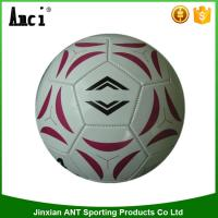 Buy cheap Top quality colorful printing 3.00 PU machine stitching size 5 soccer ball from wholesalers