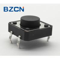 Buy cheap Durable Normally Closed Tactile Switch , 12 Volt Mini Push Button Switch from wholesalers