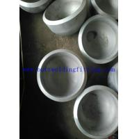 Buy cheap Butt Welded Seamless Steel Pipe Cap ASME / ANSI B16.9 UNS S31803 / 2205 from wholesalers
