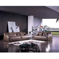Buy cheap Relaxing Fabric and Leather Living Room Couches ,  Italian With High Density Sponge from wholesalers