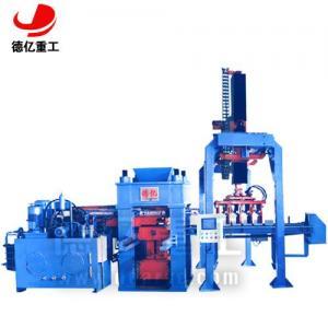 China Automatic hydraulic brick making machine on sale