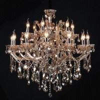 Buy cheap Chandelier Candle Light with K9 Crystal Pendant/90 x 90cm Size, Customized Size Accepted from wholesalers
