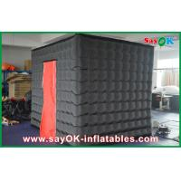Buy cheap Black Led Inflatable Photo Booth Large Square For Wedding from wholesalers