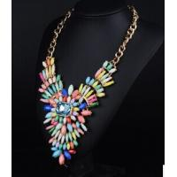 Buy cheap European and US major style Necklace JC colorful female Necklace from wholesalers