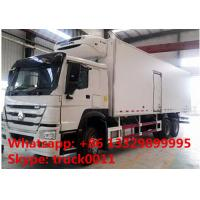 Buy cheap 2017s SINO TRUK HOWO 25tons refrigerated truck with THERMO King refeer for sale, best price HOWO 336hp cold room truck from wholesalers