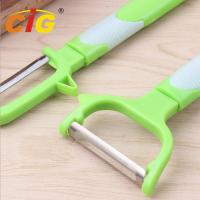 Buy cheap Multifunctional Stainless Steel Peeling Knife , Plastic Melon Grater Apple Peeler from wholesalers