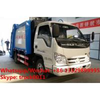 Buy cheap 2018s best price FORLAND 4x2 RHD/LHD  mini garbage compactor/rubbish collecting vehicles for sale, refuse garbage truck from wholesalers