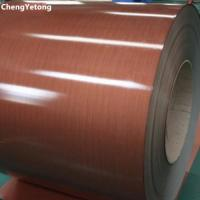 Buy cheap PVC Film Laminated Steel Sheet , Furniture Decoration Pre Painted Sheet Metal from wholesalers