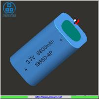 Buy cheap 18650 battery pack 3.7V 8800mAh lithium battery from wholesalers
