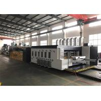 Buy cheap Multi Color Printer Slotter Die-Cutter Gluer Strapper Linkage Line For Carton Box from wholesalers