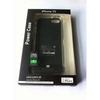 Buy cheap Custom 500mA cell phone iphone 5s Battery power case Dust Prevent from wholesalers