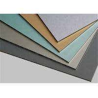 Buy cheap Custom Polyvinylidene Fluoride PVDF Aluminum Composite Panel 6mm from wholesalers