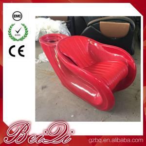 Buy cheap 2018 Fiber Glass Shampoo Chair Hot Sale Used Silver Hair Washing Chair product