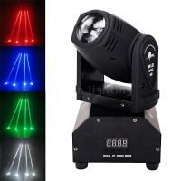 Buy cheap 10W RGBW/White Mini LED Moving Head Beam Stage Lights for Bar Theater Party from wholesalers