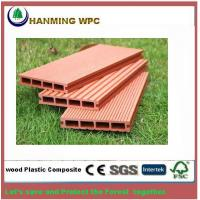 Buy cheap Wood Plastic composite Outdoor decking for swimming Pool and Park from wholesalers