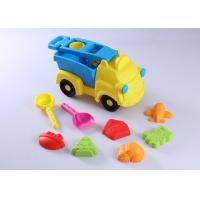 Buy cheap 10 Pcs Hard Plastic Beach Sand Set Toys W / Vehicle Animal Molds Bucket Shovel 15  from wholesalers