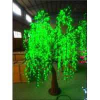 Buy cheap Light Tree LED Willow tree leaf green color Indoor Decoration from wholesalers