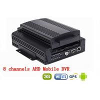 Buy cheap 8CH Hard Disk H.264 WIFI car dvr vehicle camera video recorder AHD 720P 3G GPS product