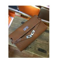 Buy cheap OEM high quality brown women soft calfskin wallets brand name wallets designer wallets card wallets LR-W02-23 from wholesalers