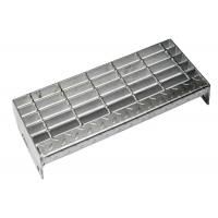 Buy cheap Medium Duty Steel Stair Treads Grating ISO Certificated Aesthetic Appearance from wholesalers
