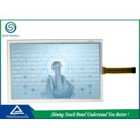 Single 4 Wire Touch Panel Resistive 8.5 Inch , ITO Glass Touch Panel