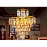 Buy cheap Gold Tree Honeysuckle Luxury Crystal Chandelier Lamp D420*H560* Chain L 350mm from wholesalers