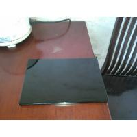 Buy cheap Black high glossy kitchen cabinet door panel from wholesalers
