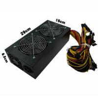 Buy cheap Miner Case Desktop Power Supply Unit Nine Leaf Black Fan 1650 Watt Output product