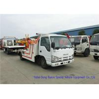 Buy cheap ISUZU Light Duty Road Wrecker Tow TruckFor Cars SUV Road Recovery Euro 5 from wholesalers