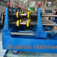 Buy cheap 100-600mm Width Cable Tray Cold Roll Forming Machine With Punching Press Machine product