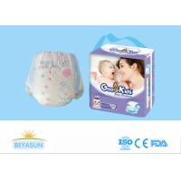 Buy cheap Safe Infant Baby Diapers , Eco Friendly Disposable Diapers For Just Born Babies product