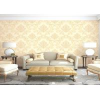 Buy cheap Eco - Friendly Embossed Non Pasted PVC Vinyl Wall Covering Room Decoration Wallpaper product