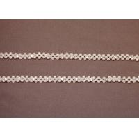Buy cheap Decorative Women White Jeweled Beaded Bra Accessories Straps from wholesalers