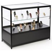 """Lockable Cell Phone Display Case , 48"""" Retail Glass Countertop Display Case"""