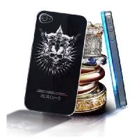 Buy cheap Sense Flash Light LED Color Hard Cover Case For Apple iPhone 4 4G 4s Hot from wholesalers