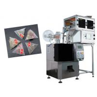 Buy cheap Automatic triangle tea bag packaging machine with cheap price,food grade stainless steel 304 tea leaf packaging machine from wholesalers