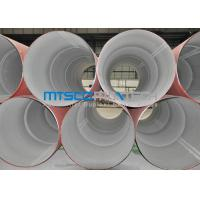 Buy cheap 304 / 316 Annealed Pickled Welded Stainless Steel Pipes , Industrial Pipe from wholesalers
