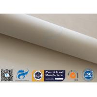 Buy cheap 1.3mm 1200℃ 96% SiO2 High Silica Fabric Fiberglass Fabric For Fire Blanket from wholesalers