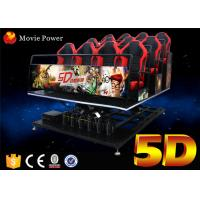 Buy cheap 6 / 9 / 12 Seats 5d Cinema System 6 Dof Platform Mini 5d Theater 6 Dof Electric 5d Cinema from wholesalers