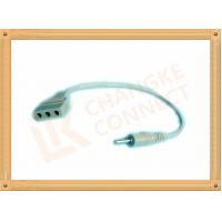 Buy cheap Copper 2.5 Male To Female 3 Pin Tens Unit Wires Adapter Cable from wholesalers