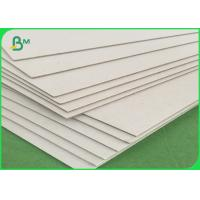 Buy cheap 2.5mm thickness Carton Board Gray Back cardboard paper Waste Making Recycle from wholesalers